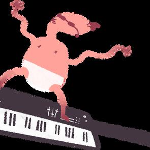clavier bébé