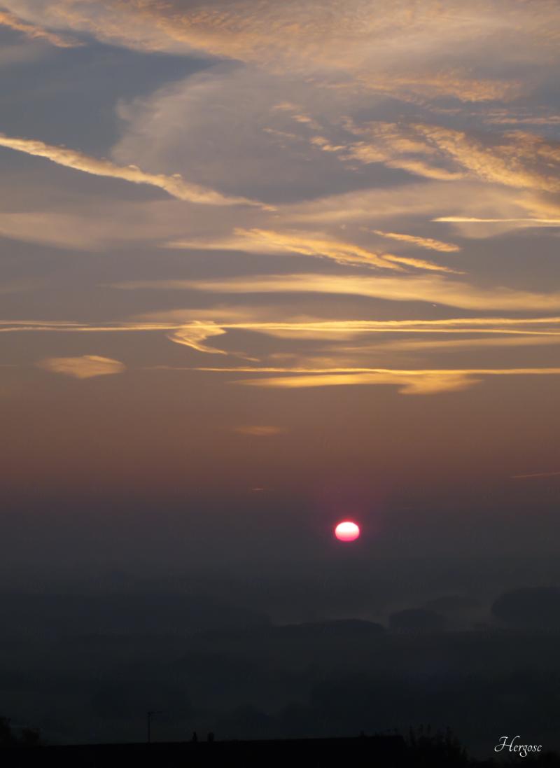 lever de soleil automnale