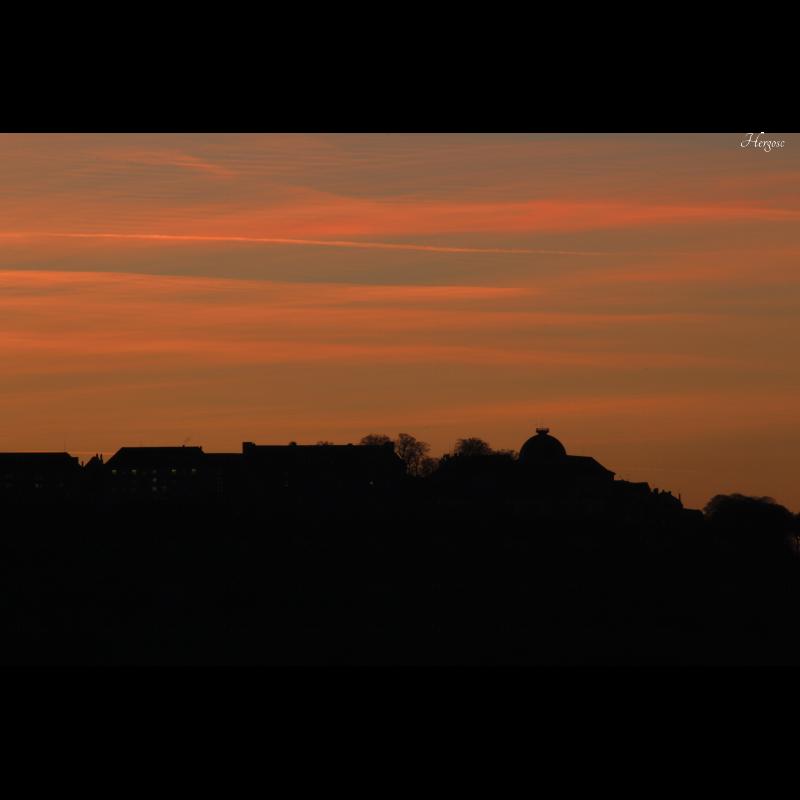 Coucher de soleil sur Langres 2