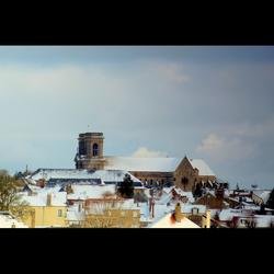 Langres sous la neige