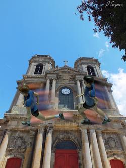 Course sur la cathédrale de Langres