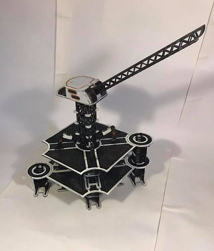 sci-fi crane and large platforms
