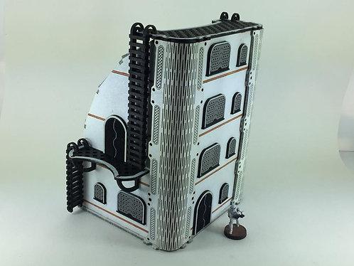 Sci-fi Apartment building