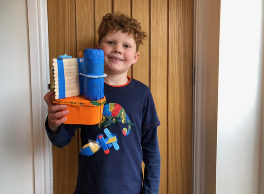 These brothers have been busy at home making boats as part of the Challenge of the Week.