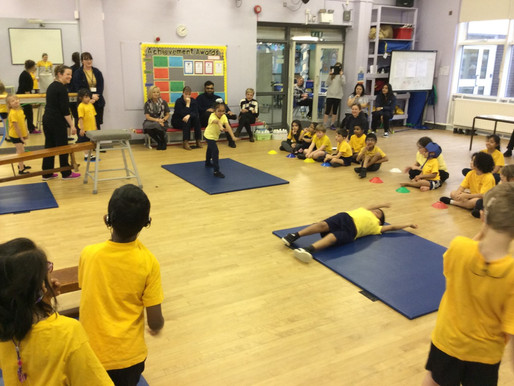 The whole school enjoyed showcasing their gymnastics skills during our annual Gymnastics Festival.