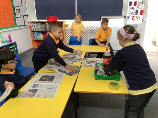 Year 3 (France) are learning about rocks and how igneous rocks are formed…