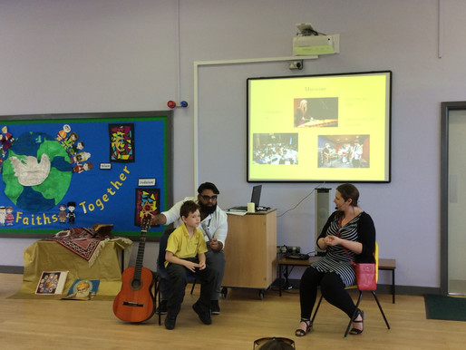 Sycamore Class (Y4) presented an assembly on the theme of commitment this week.