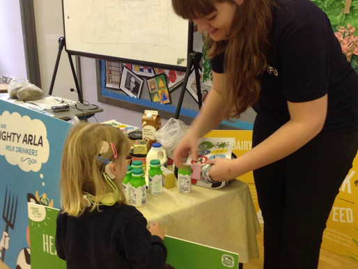 Foundation pupils have been learning all about the importance of milk from some special school visit