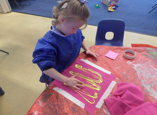 Foundation Swans have been developing their fine motor skills by learning a new Write Dance.