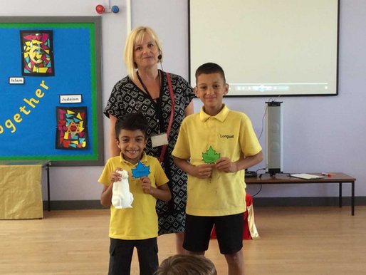 We have been so impressed with these pupils, who received awards for the kindness they have consiste