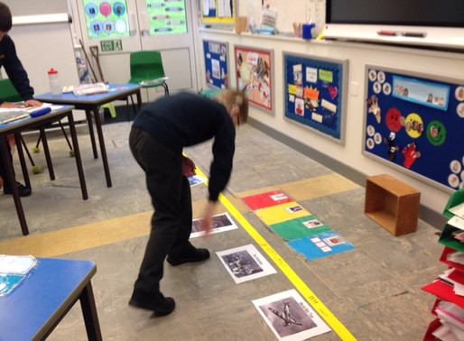 Pupils developed their skills of revision in a recent a history lesson (Building Learning Power).