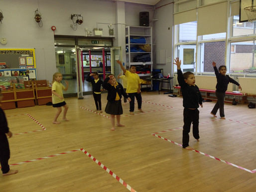 Year 1 and Year 2 pupils have been learning about their class animals in their animal dance.
