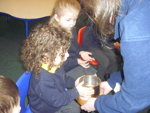 Foundation (Lilies class) really enjoyed their visit from a Fire Fighter today (ROC Article 28 The r