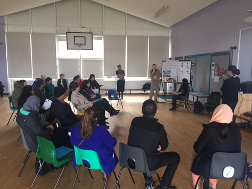 We invited several speakers to our parents information morning last Wednesday. Adam spoke about the