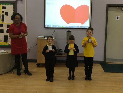 Our Golden Box Awards are very special! They recognise and celebrate pupils who have shown some sort
