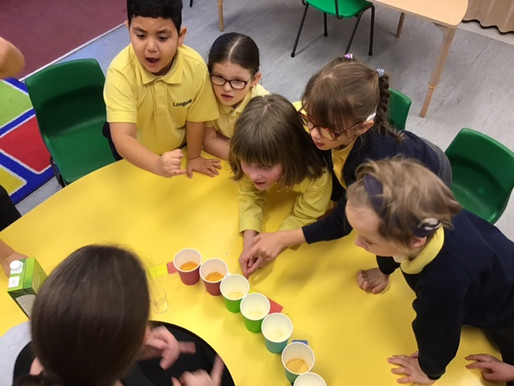 Year 2 Sweetpeas have been learning about 'sharing' in maths. This afternoon, after a Circle
