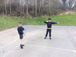 Year 5 and 6 have enjoyed practising their archery skills