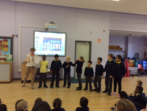 Congratulations to the children who got through auditions to a secure a place in Longwill's got