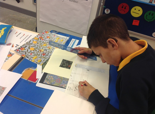 Y5 Toucan Class have been studying the designer William Morris