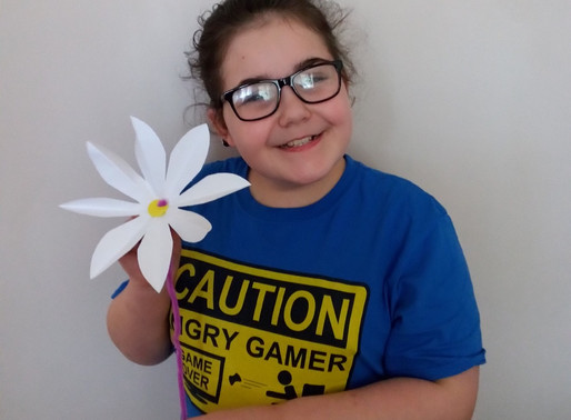 Another lovely 'Challenge of the week' flower made by a pupil in Toucan class.