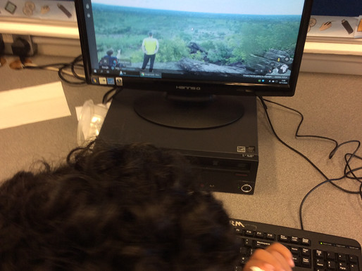 Year 4 Monkeys loved learning how to use Google Earth to find the historic city of Benin...