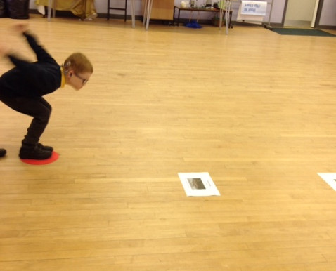 In our Science investigation this week, we have been finding out if we can jump like animals. We all
