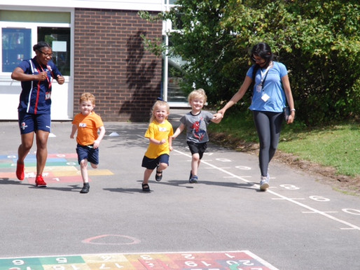 A lovely sports day, enjoyed by all! Pupils loved the wide range of sports on offer - long jump, tri