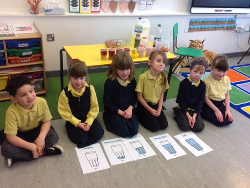 Year 1 Birch have been learning about capacity. We used different measurements to make a magic potio