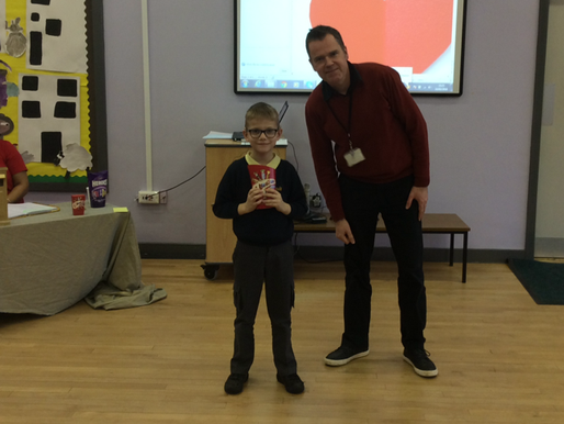 Our Valentines Day signing competition winners were awarded their prizes yesterday. Well done!