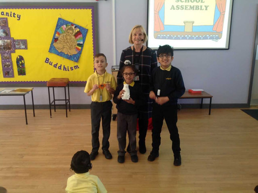 Congratulations to our three recipients of 'The Kindness Tree' awards. They should be so proud.