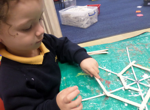 Foundation Swans have been learning all about the life cycle of the spider (Rights of the Child Arti