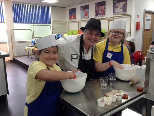 School council had a fantastic day out at the City Kitchen. They tried new foods, cooked their own p