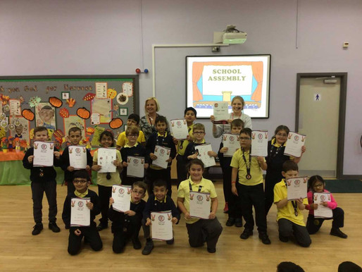 Congratulations to Hazel, sycamore and Pine Classes (Y3 and Y4) who took part today in a city-wide P