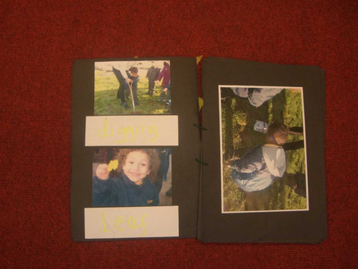 Foundation pupils (Lily Class) have made a lovely book about their experiences in gardening.