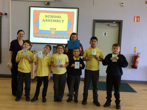 Our weekly Attendance Award winners are Sycamore Class (Year 4). Well done!