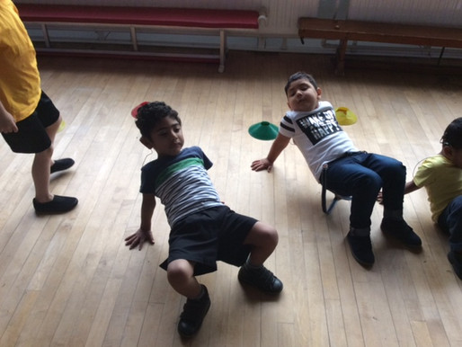 Foundation learning how to balance in PE