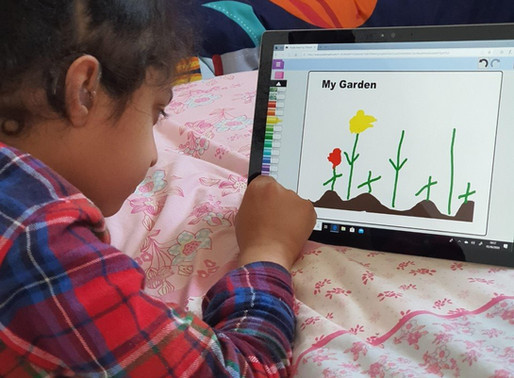 What a lovely garden design! This pupil in Puffin class has been designing a garden as part of his..
