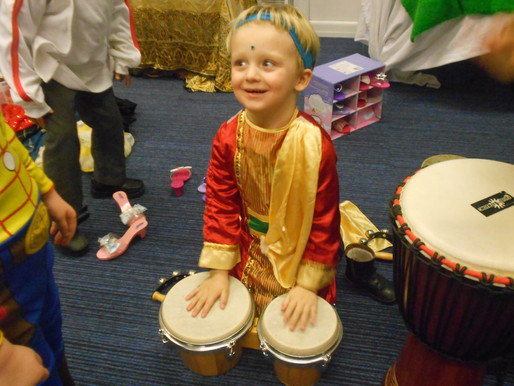 Pear Class (Foundation) have been learning about Diwali and really enjoyed having a celebration Diwa