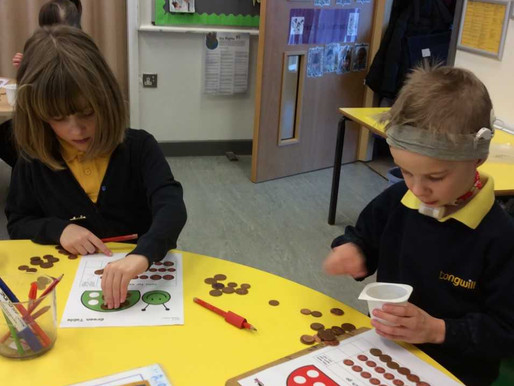 Sweetpeas have started a new maths project. We will be playing lots of games that help us to work ou