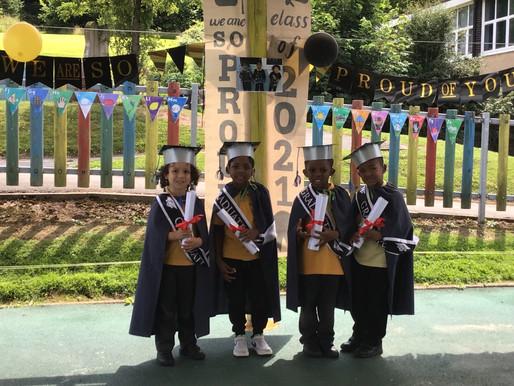 We enjoyed a wonderful graduation ceremony today!