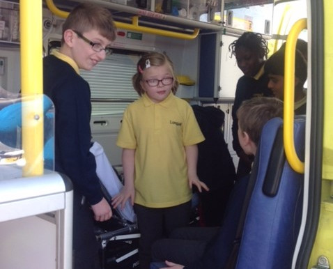 KS1 and KS2 pupils learned so much about the role of paramedics and how they can help us...