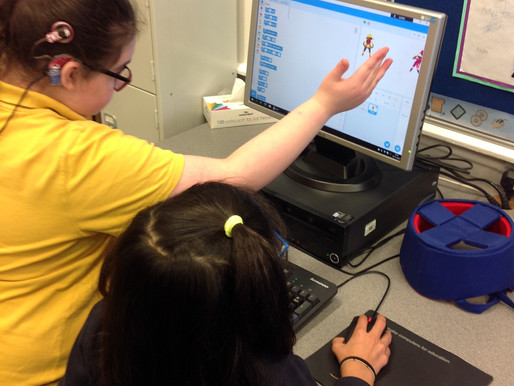 Year 6 explored Scratch to learn about computer programming and algorithms.