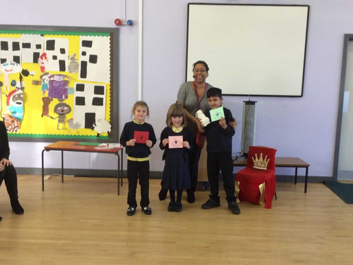 We recognised these three lovely pupils who are our 'Kindness Tree' winners this half term.