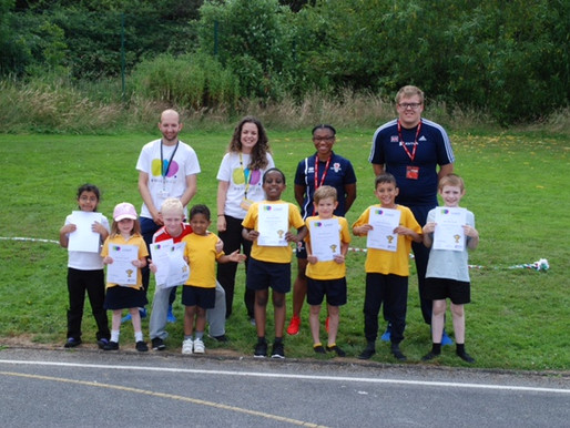 Pupils were placed into different teams and represented a country. The team representing France were