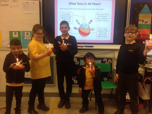 Toucan Class made Christingles