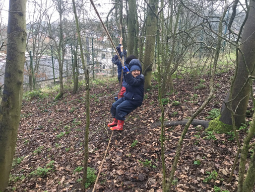Year 2 Puffins had a fantastic time at forest school this week.