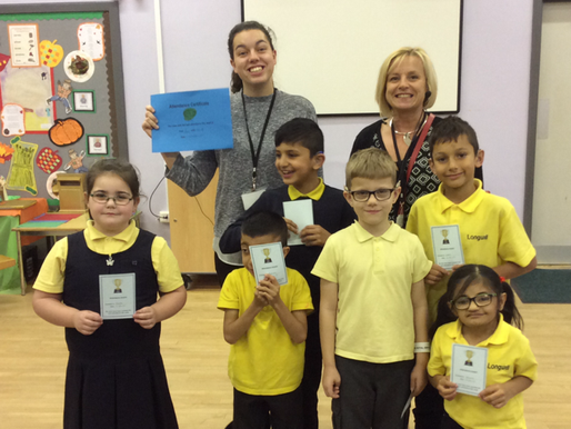 Hazel Class (Y3) won our weekly attendance award this week. Congratulations!