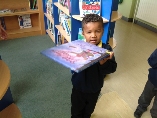 In maths today today Swan Class enjoyed walking around school looking for things that were heavy and