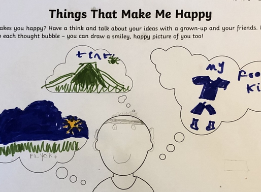 This year 2 pupil has been keeping his mind healthy by...