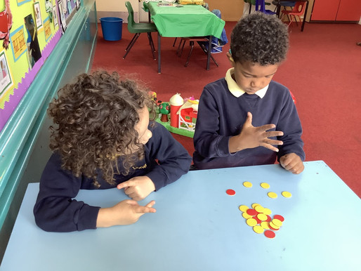 Pupils in Bears Class (EYFS) have been working very hard in Maths.